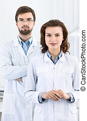 Dentist and his assistant are always ready to help to the...