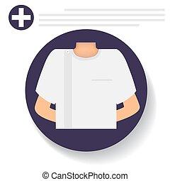 Dentist. Dental concept. Dentist background. Vector illustration.