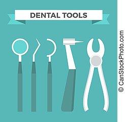 Dentist doctor infographic vector illustration