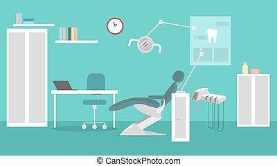 dentist., escritório