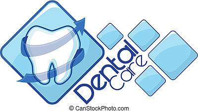 dentist logotype vector
