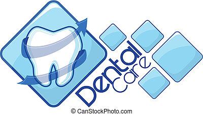 dentist logotype vector