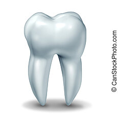 Dentist tooth symbol for dental clinic and oral surgeon...