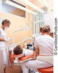 dentist., visita