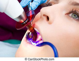 dentista, tecnología