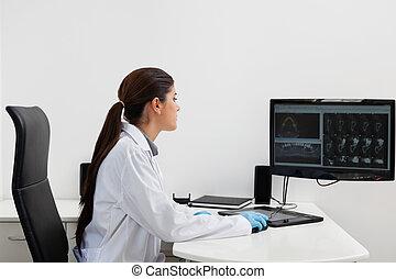 dentiste, informatique, fonctionnement