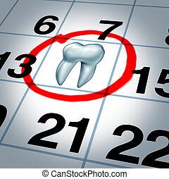 dentiste, rendez-vous