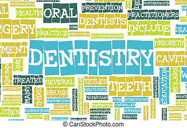 Dentistry Profession as a Medical Concept Art