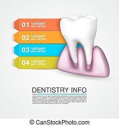 Dentistry info medical art creative.