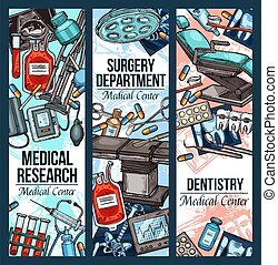 Dentistry surgery and medical research