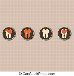 Dentistry symbols