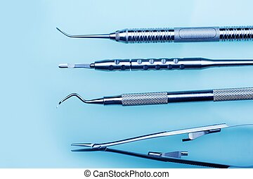 Dentistry Tools - Medical Tools Collection.