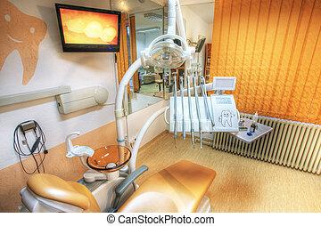 Dentist\'s chair