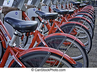Denver B-Cycle Station Close Up