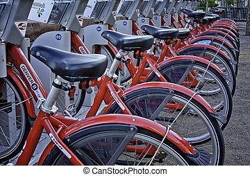 Denver B Bikes Program - Denver bicycle sharing program...