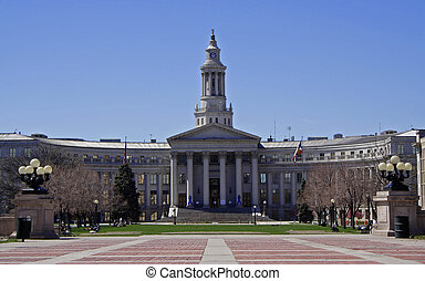 Denver City and County Building - Denver city and county...