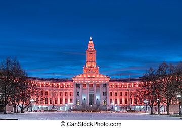 Denver, Colorado, USA City and County Building