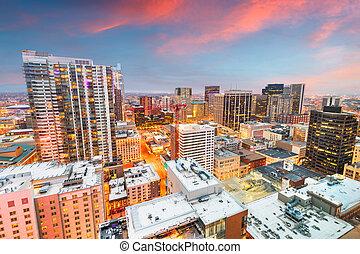 Denver, Colorado, USA Cityscape