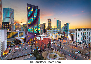 Denver, Colorado, USA Downtown