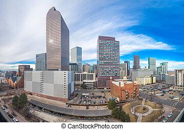 Denver, Colorado, USA Skyline