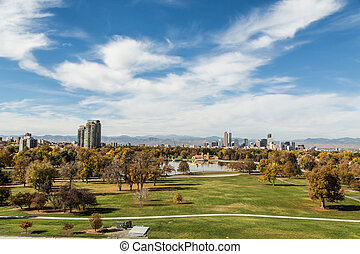 Denver Park and Skyline
