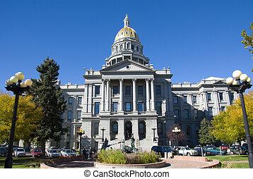 Denver State Capitol in Colorado