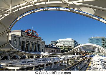 Denver Union Station Train Depot - New Union Station train...