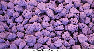 deodorize, púrpura, perfumado, lavanda, rocas, cajones, guardarropa