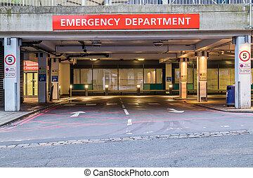 departamento emergencia, entrada
