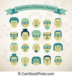 Department Of Chemistry Teachers Illustration