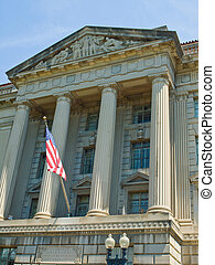 Department of Commerce Building in Washington DC
