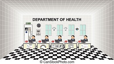 Department of Health office