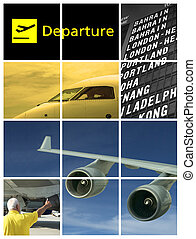 departure - collage