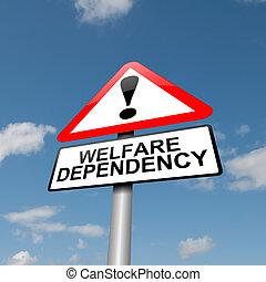 dependence., bienestar