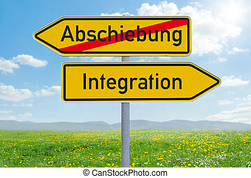 deportation, κατεύθυνση , (german), oder, - , δυο , ...