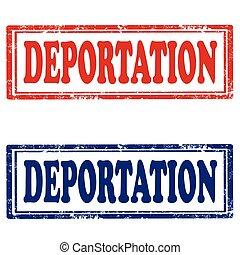 Deportation-stamps