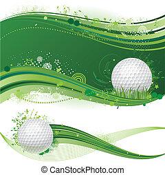 deporte, golf