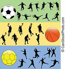 deporte, mezcla