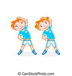 deporte, niños