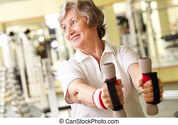 deporte, para, el, jubilado