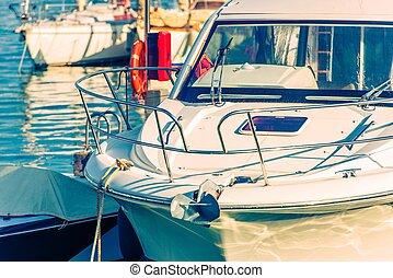 deporte, pesca, barco