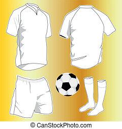 deporte, uniformes