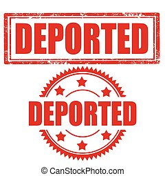 Deported-stamps