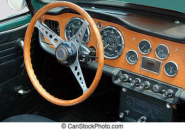 deportes clásicos, coche