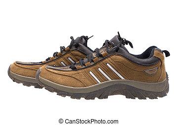 deportes, footwear.