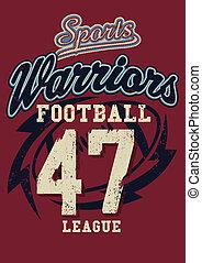 deportes, guerreros, fútbol, liga