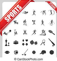 deportes, icono