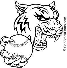 deportes, mascota, animal, jugador del tenis, tigre