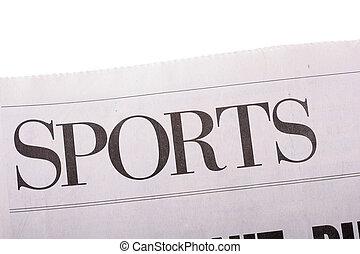 deportes, periódico