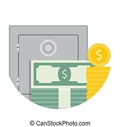 Deposit savings icon